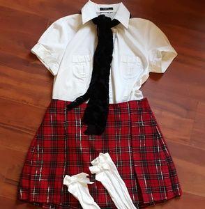 🎃school girl costume 🎃